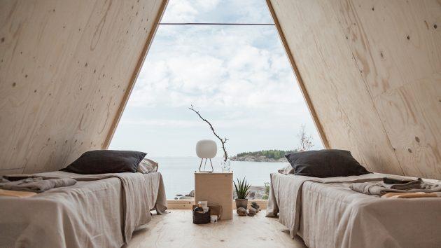 Cabaña Nolla por Studio Mr. Falck en Vallisaari, Finlandia