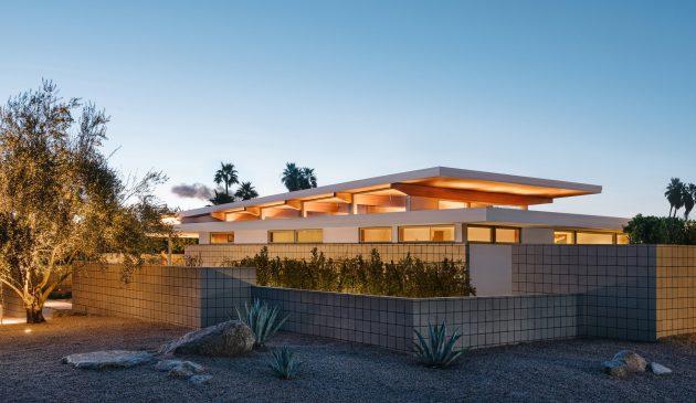 Axiom Desert House de Turkel Design en Palm Springs