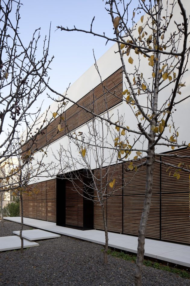Casa Kfar Shmaryahu de Pitsou Kedem Architects en Israel