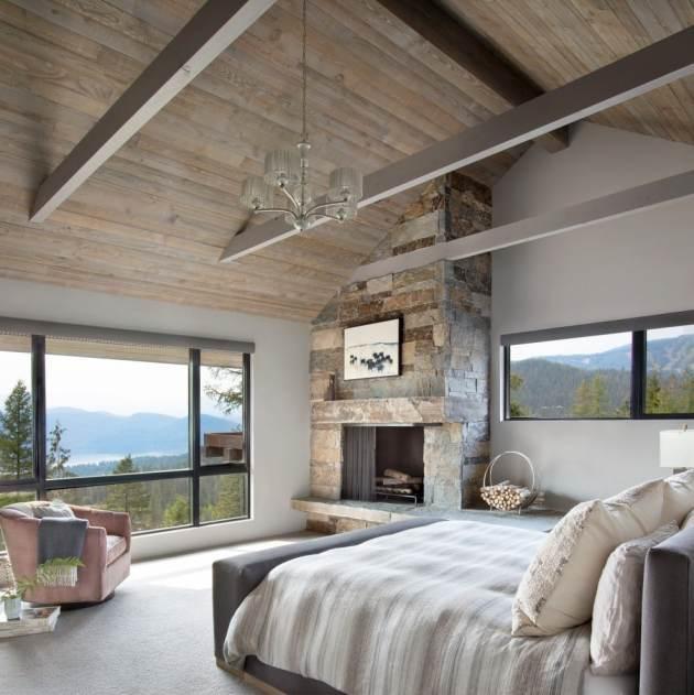 16 hermosos diseños de interiores de dormitorios rústicos que no podrás resistir