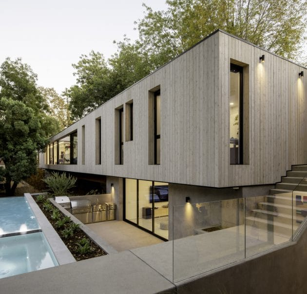 Bridge House LA por Dan Brunn Architecture en Los Angeles, California