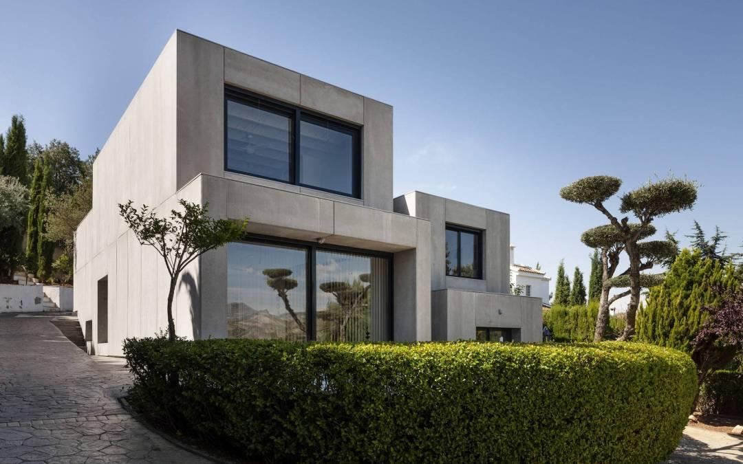 C&C House por Arias Recalde Taller de Arquitectura en Dudar, España