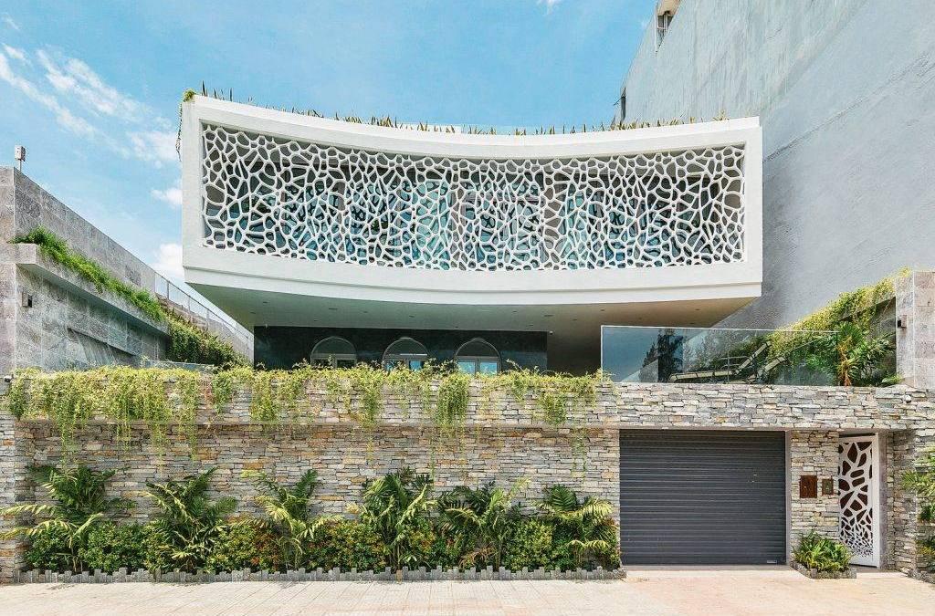 Villa Coral por HUNI Architects en Da Nang, Vietnam