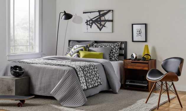 Hermoso y amigable dormitorio adolescente