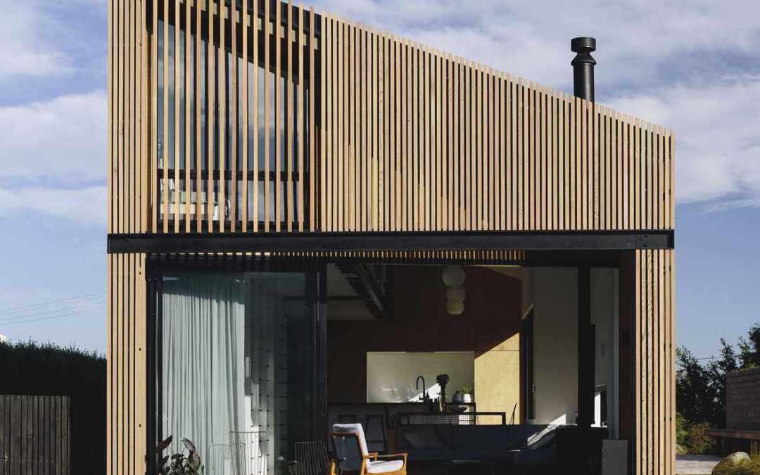 River Retreat House por Edwards White Architects en Nueva Zelanda