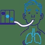 Servicio de rehabilitación pulmonar