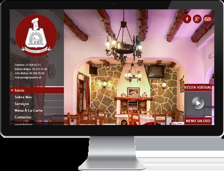 website restaurante o padeiro