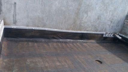 Impermeabilización de macetero con manto asfáltico - Casco Viejo Hotel Concordia