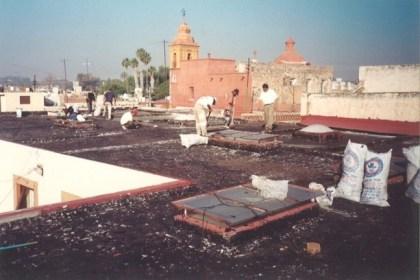 Monumento Histórico de Querétaro - Trabajos de Renovación