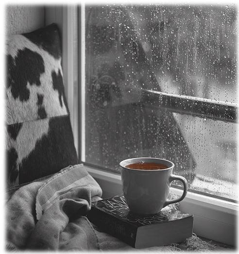 lluvia, café... y tú