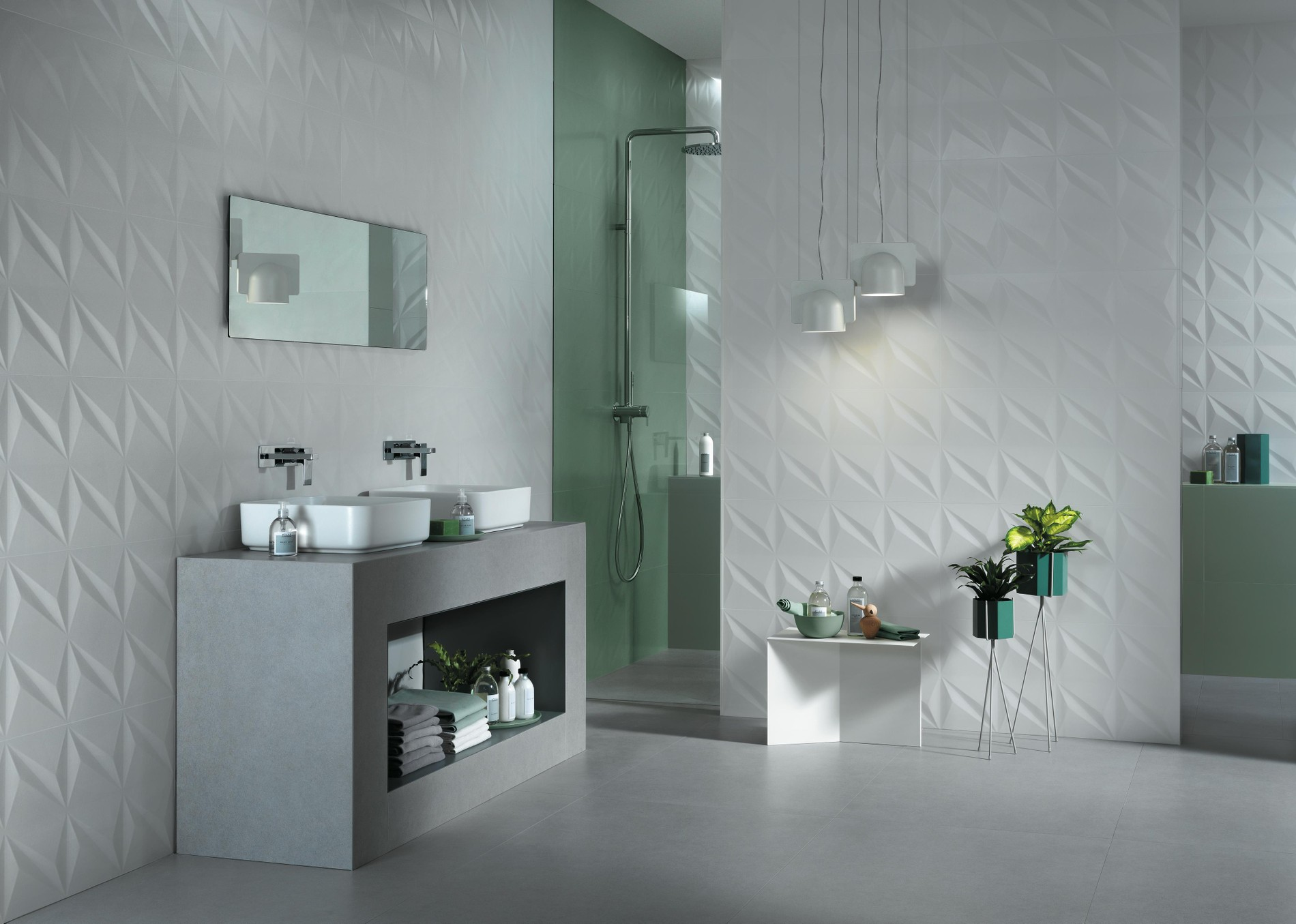 3d wall tiles for the bathroom and