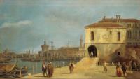 Canaletto mercato del molo