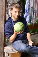 Unser Phil hat das beste Obst und Gemüse am Mars