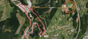 F1 Hotel-Camp für GP von Belgien