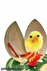 Osterbilder zum selber drucken: Kücken