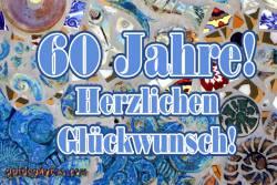 Zum 60 Geburtstag Karten kostenlos