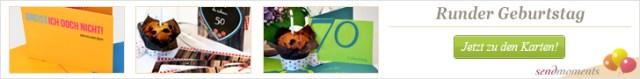 runder Geburtstag, einladungen, Geburtstagskarten, Danksagungskarten bestellen