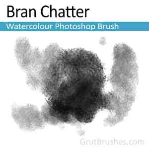 Photoshop watercolor brush.