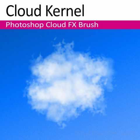 Photoshop Cloud Brush 'Cloud Kernel'