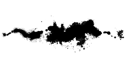 ink spill Photoshop brush for painting ink stains
