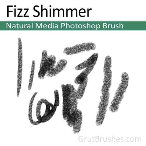 'Fizz Shimmer' Photoshop Natural Media Brush