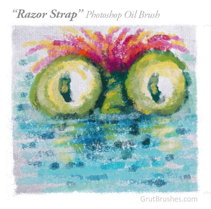 Free grutbrush of the week #14 - Free Photoshop oil paint brush