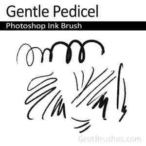 'Gentle Pedicel' Photoshop Ink brush