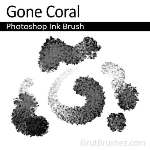 Photoshop Ink Brush 'Gone Coral'