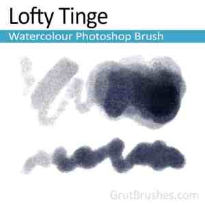 Lofty Tinge Photoshop watercolor brush for digital painting