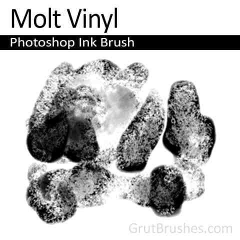 'Molt Vinyl' Photoshop ink brush