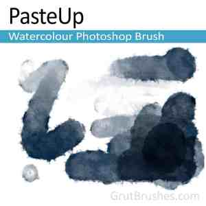real watercolour brush for Photoshop