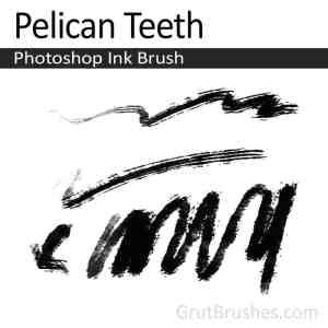 Gently Swayed Photoshop watercolor brush for digital painting