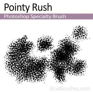 Photoshop Specialty Brush for digital artists 'Pointy Rush'