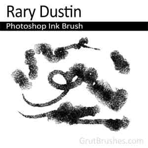Photoshop Ink Brush for digital artists 'Rary Dustin'