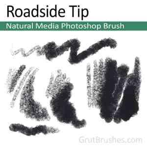 Natural Media Photoshop brush