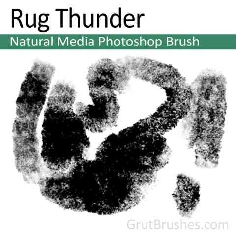 Photoshop Brush 'Rug Thunder'