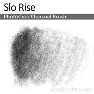 'Slo Rise' Photoshop Charcoal Brush