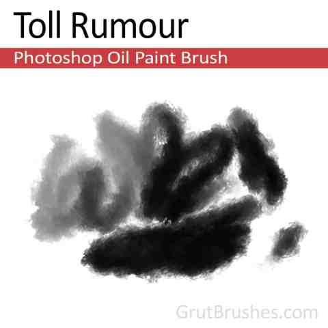 Photoshop Oil Brush 'Toll Rumour'