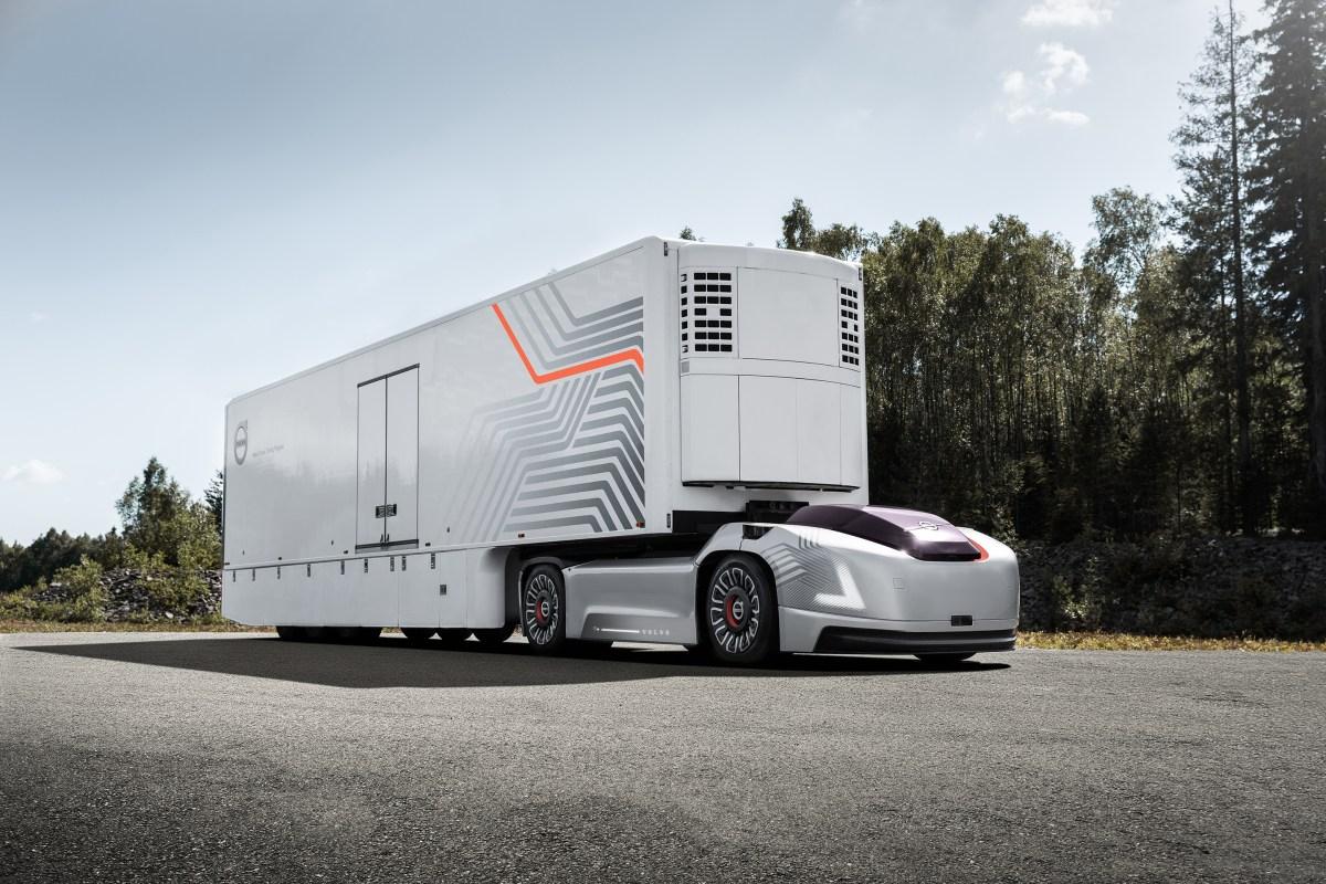 Новые грузовики от Volvo