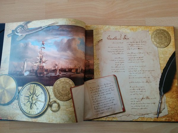 The gentle storm the diary artbook 1