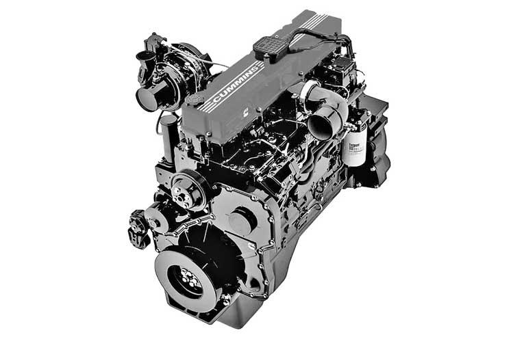 Двигатель Е-5 Cummins ISLe 375