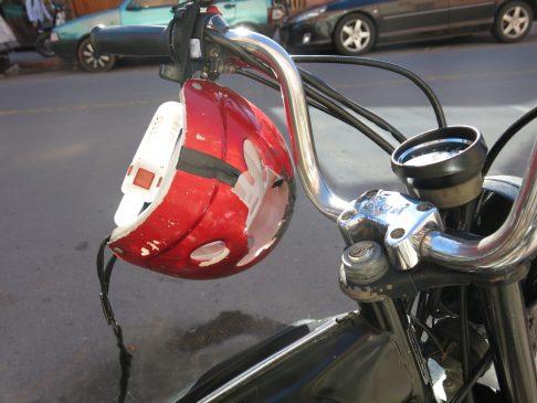 104. Godt brukt hjelm