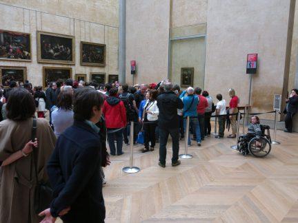 154. Kø foran Mona Lisa