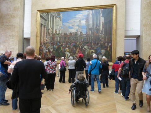 158. Et enda kulere bilde i samme rom som Mona Lisa