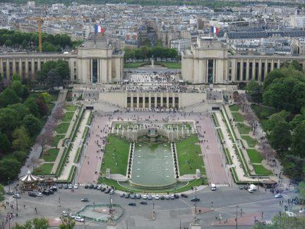 70. Utsikt Palais de Chaillot
