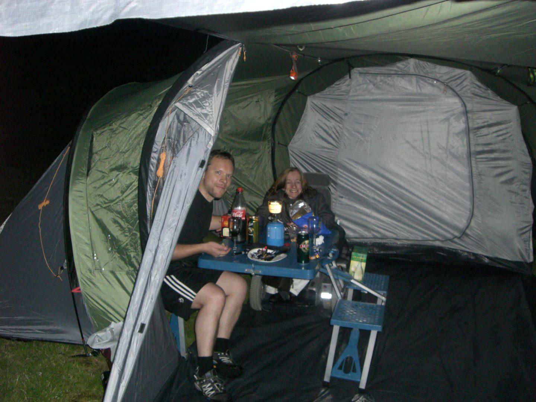Fra campingliv til glampingliv i Norsjø | Grybetrotter på tur