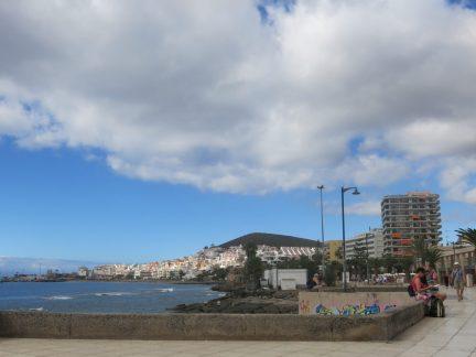 29. Strandpromenaden begynner - Los Christianos