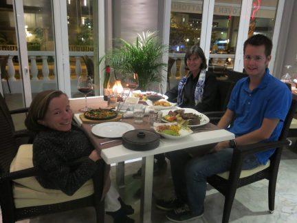 89. Middag på Paurus argentinsk steak house