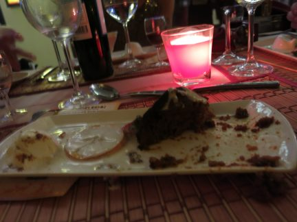 104. Dessert - Malvapudding med vaniljesaus