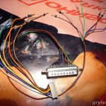 Kabelek do mini płytki i programator
